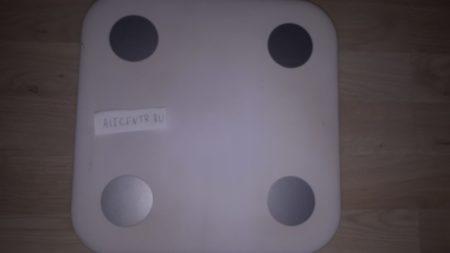 Xiaomi Mi Smart Scale White - напольные электронные весы от Сяоми