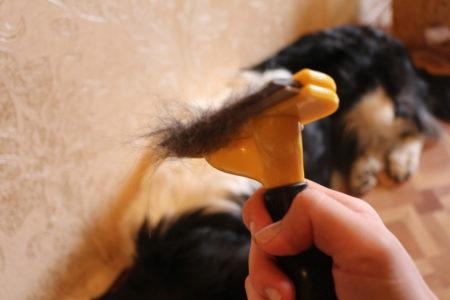 Фурминатор для длинношерстных собак