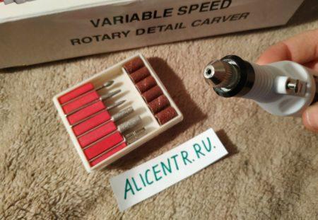База Rosalind - домашний маникюрный набор с фрезами