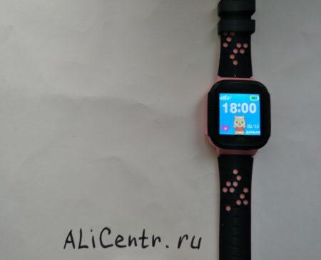 Детские умные часы Greentiger Q02 с GPS и кнопкой SOS
