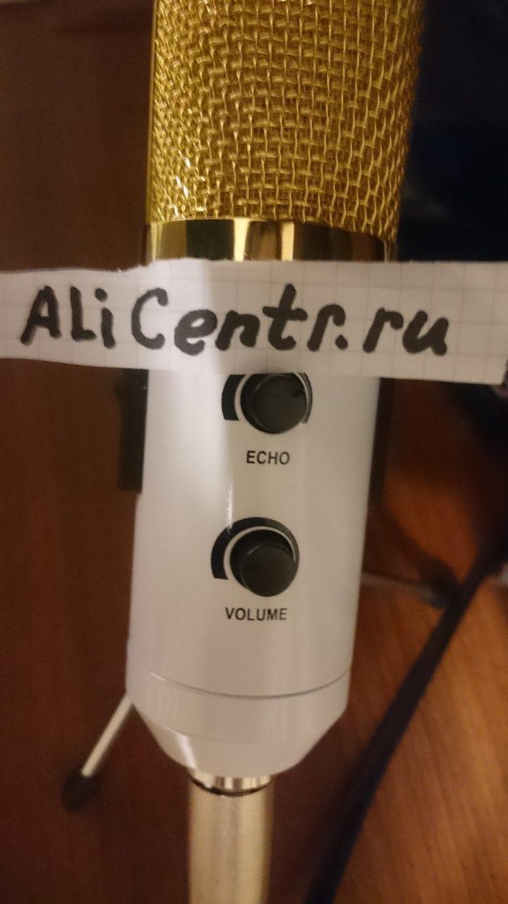 Микрофон конденсаторный с USB