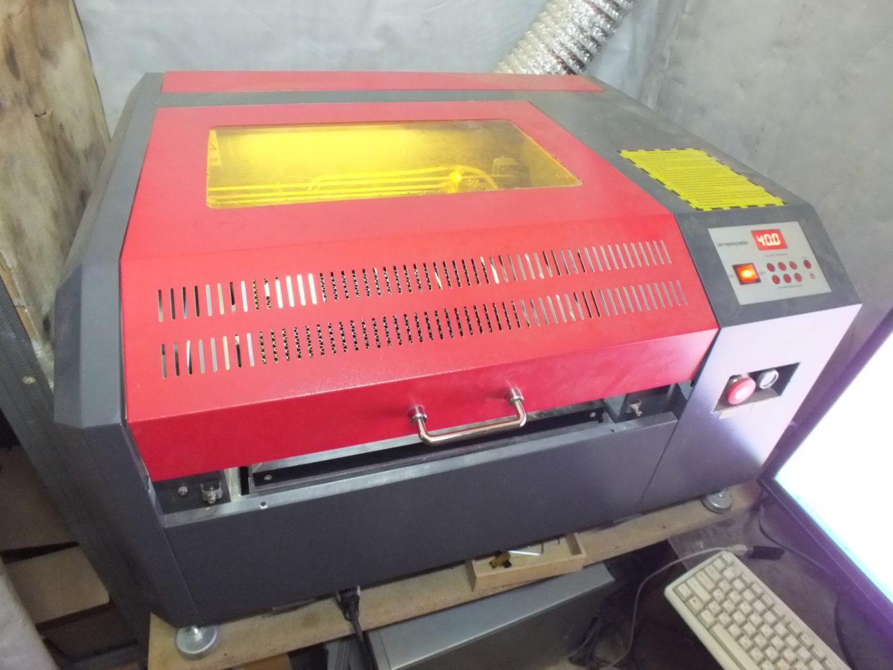 Лазерный гравер и лазерный режущий станок LCSPR на 50 Вт