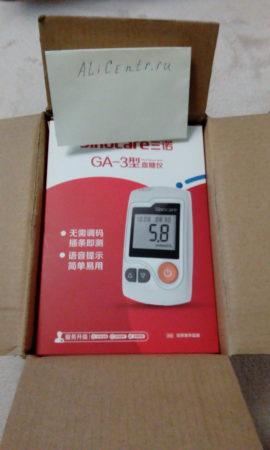 Глюкометр Sinocare ga-3 - измеритель глюкозы в крови