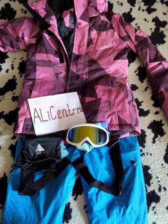 Лыжный костюм для женщин от бренда VECTOR